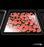 hublot et fleurs Photographie stock libre de droits