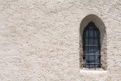 Hublot gothique Photographie stock libre de droits