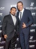 Hublot meddelar att partnerskap med världspoker turnerar Royaltyfri Bild