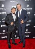 Hublot meddelar att partnerskap med världspoker turnerar Royaltyfri Fotografi
