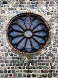Hublot rond d'église Images stock