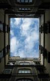 Hublot sur le ciel Photos libres de droits