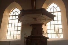 hublots d'église Images libres de droits