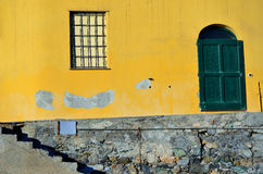 Hublots de Varigotti, Italie Photos libres de droits