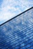 Hublots en verre de gratte-ciel Photos libres de droits