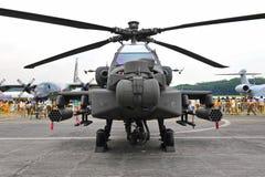 Hubschrauber Apache-AH-64 Lizenzfreie Stockfotografie