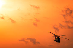 Hubschrauber auf Airshow Lizenzfreie Stockfotos