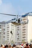 Hubschrauber Augusta Bell 212 lizenzfreies stockbild