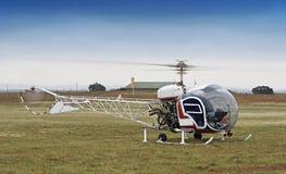 Hubschrauber Bell-47 Stockfoto