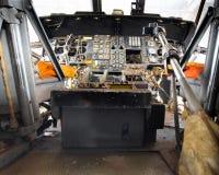 Hubschrauber-Cockpit Lizenzfreies Stockfoto