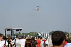 Hubschrauber an der NEIGUNG Stockfoto