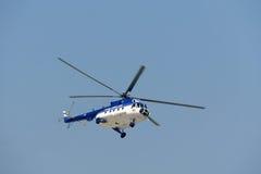 Hubschrauber an der NEIGUNG Stockbilder