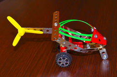 Hubschrauber des kleinen Modells Lizenzfreies Stockbild