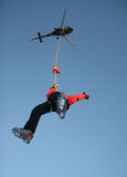 Hubschrauber-Hebemaschine Hiro Stockfotos