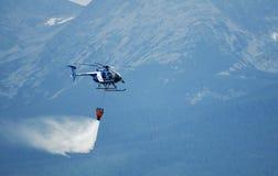 Hubschrauber-Hughes MD 530F - kämpfende Tanne Stockfotografie