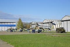 Hubschrauber Ka-52 Stockfotos