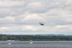 Hubschrauber Ka-52 Hokum B Stockfoto