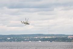 Hubschrauber Ka-52 Hokum B Stockfotografie