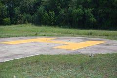 hubschrauber-landeplatz Stockbilder