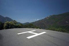 Hubschrauber-Landeplatz Lizenzfreie Stockfotos