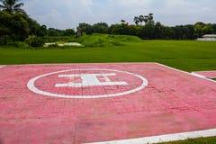 Hubschrauber-Landeplatz für Hubschrauber Lizenzfreie Stockfotografie