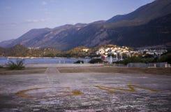 Hubschrauber-Landeplatz von Kas Lizenzfreie Stockfotos