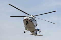 Hubschrauber landet Stockbilder