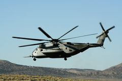 Hubschrauber-Landung Lizenzfreie Stockfotografie