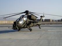 Hubschrauber Mangusta Stockfoto