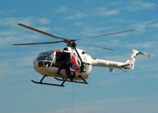 Hubschrauber MBB-BO 105 Stockfotos