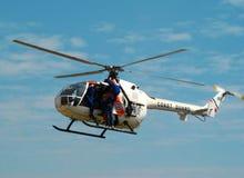 Hubschrauber MBB-BO 105 Lizenzfreie Stockfotos