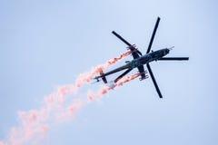 Hubschrauber Mil Mi-24 Lizenzfreie Stockbilder
