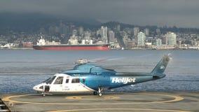 Hubschrauber n Vancouver stock video