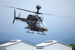 Hubschrauber OH58 Stockbild