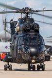 Hubschrauber Royal Air Forces RAF Aerospatiale SA-330E Puma-HC2 bei RAF Waddington Stockfoto