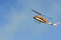 Hubschrauber-Tropfen lizenzfreie stockbilder