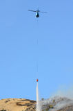 Hubschrauber-Tropfen stockfotos