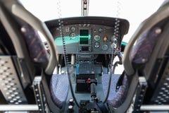 Hubschraubercockpit Lizenzfreie Stockfotos