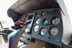 Hubschraubercockpit Lizenzfreie Stockfotografie