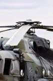 Hubschrauberdetail Stockfotos
