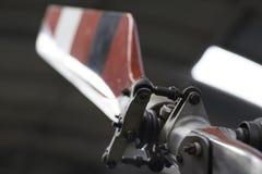Hubschrauberendstück-Dienstturnusblatt stockfotografie
