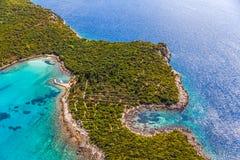 Adriatische Landschaft Lizenzfreies Stockbild