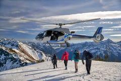 Hubschrauberrettung Lizenzfreie Stockfotos