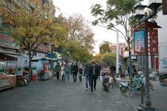 Hubuxiang Wuhan royaltyfri fotografi