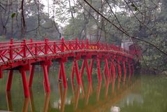 Huc Brücke Stockfotografie