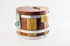 Hucha de madera Fotos de archivo libres de regalías