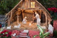 Huche de Noël Photographie stock