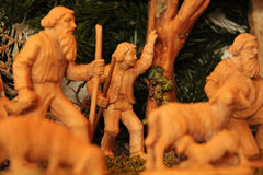 Huche de Noël Photo stock
