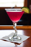 Huckleberry martini Royalty Free Stock Images