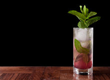Huckleberry mojito Stock Images